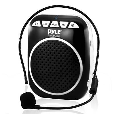 Portable Loud Speaker Voice Amplifier Microphone Booster Waist Band PA -