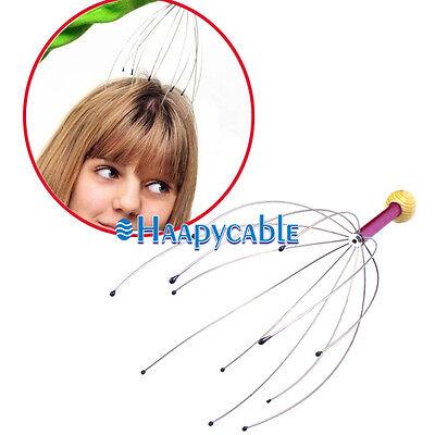 - New Head Neck Scalp Massager Massage Octopus Stress Relax SPA Therapy Healing
