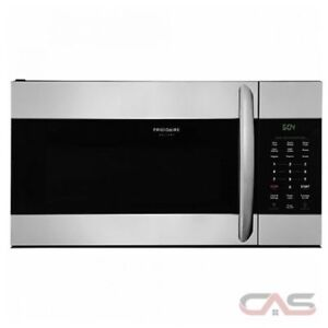 Stainless steel Over range microwave. Frigidaire. Brand new