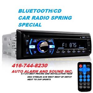 BLUETOOTH CD CAR STEREO SALE ON NOW