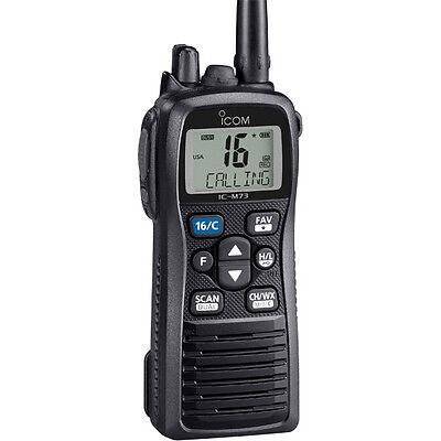 Icom M73 Handheld Vhf Radio