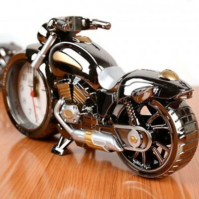 Harley Decor (~BRAND NEW~ Harley Style Motorcycle Clock Alarm Decor GREAT Item Gift to)