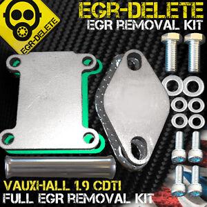 EGR DELETE blanking plate Vauxhall Astra Vectra Zafira 1.9 CDTI 150 bhp Z19DTH