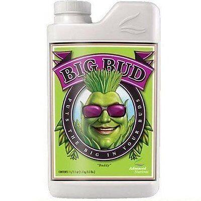 Advanced Nutrients Big Bud Liquid 250ml - bloom booster enhancer fertilizer