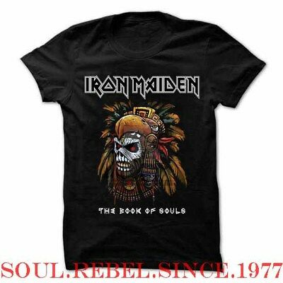 Iron Maiden Book Of Souls Punk Rock Alternative   Mens Sizes T Shirt