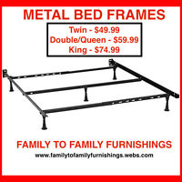 **50% OFF HOLIDAY SALE** DOUBLE/QUEEN SIZE METAL BED FRAME