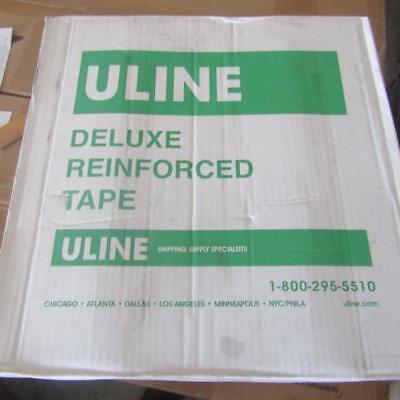 Box Of 10 Rolls Uline S-5758 3 X 450 Snowhite Reinforced Tape
