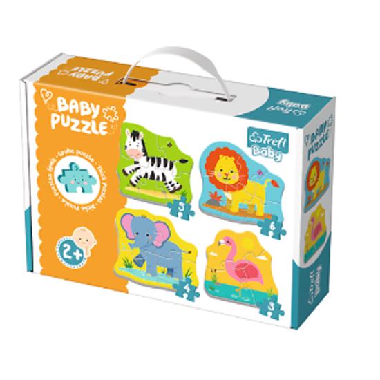 Baby Puzzle Safari Lernspielzeug Motorik Kinderspielzeug ★DHL★
