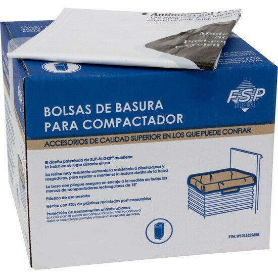 NEW 60 Pack Whirlpool 15 Inch Plastic Trash Compactor Bags W