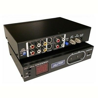 (Eagle Digital Agile Modulator UHF CATV S-Video Single Channel Dual RCA S Video)