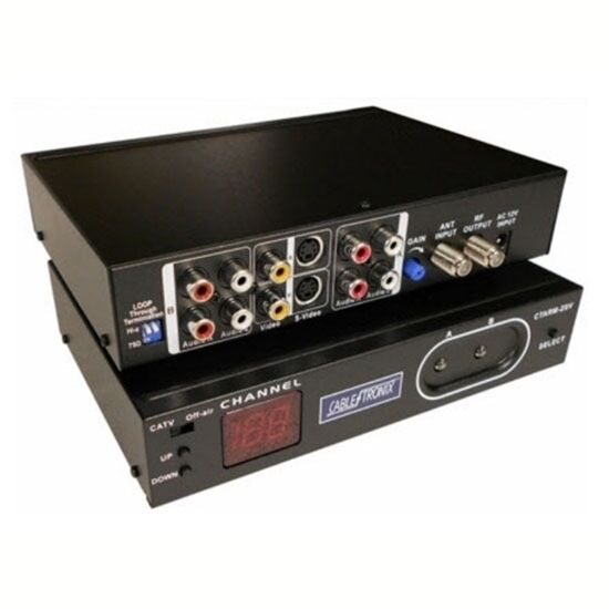 Eagle Digital Agile Modulator UHF CATV S-Video Single Channel Dual RCA S Video