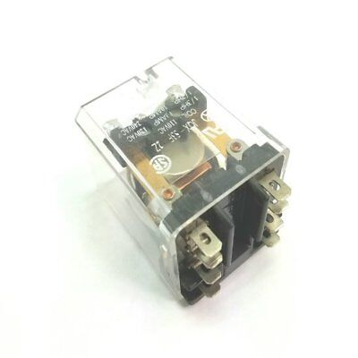 120vac 13 Amp Relay Double Pole Double Throw Dpdt Ice Cube 8 Pin .187 Terms