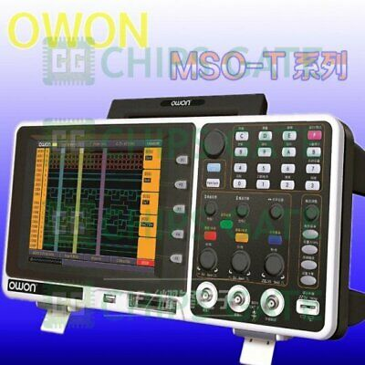 1pcs Owon Mso7102t Mixed Logic Analyzer 100mhz 1gss 500mss 7.8 Lcd