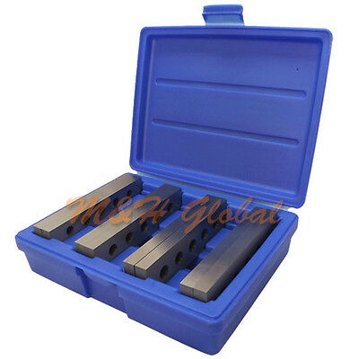 4 Pair 12 X 6 Parallel Set Steel Hardened Precision Gauge