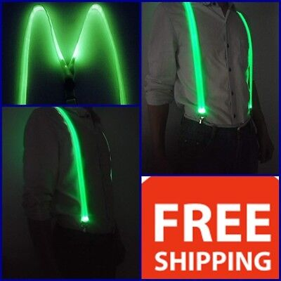 LED Light Up Glowing Suspenders Men Suit Costume Christmas New year Party Gift](Light Up Suit)