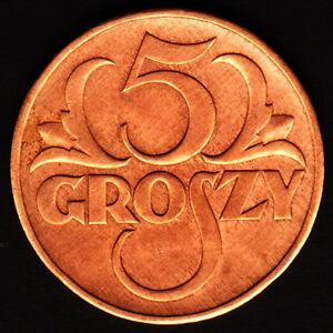 Poland OB 003 - 5 groszy 1938 - <span itemprop=availableAtOrFrom>Bydgoszcz, Polska</span> - Poland OB 003 - 5 groszy 1938 - Bydgoszcz, Polska