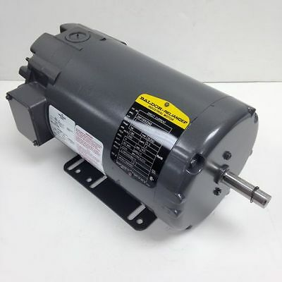 Baldor 1 Hp 1750 Rpm Tenv 180a200f Volts 56 Dc Motor New Surplus