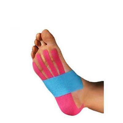 Kinesio Pre-Cut Tape Foot Application Customizable Water Resistant 1 Application