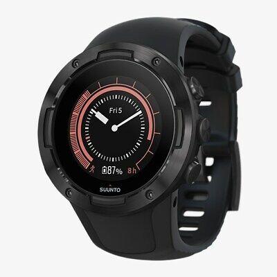 Suunto 5 Core All Black Orologio Sportivo GPS per Adulto, Unisex Smartwatch