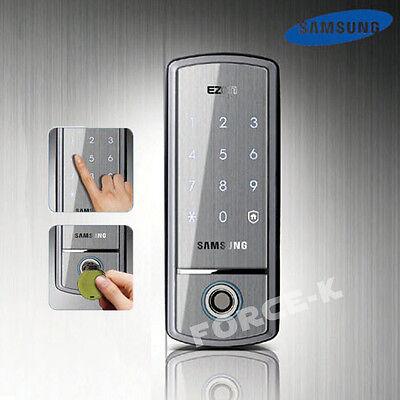 Keyless Lock SAMSUNG SHS-1411 Digital Doorlock Smart Entry Password+IC Keys 2Way