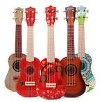 21 Inch 4 Strings Colorful Toy Ukulele Chinese Style for ...