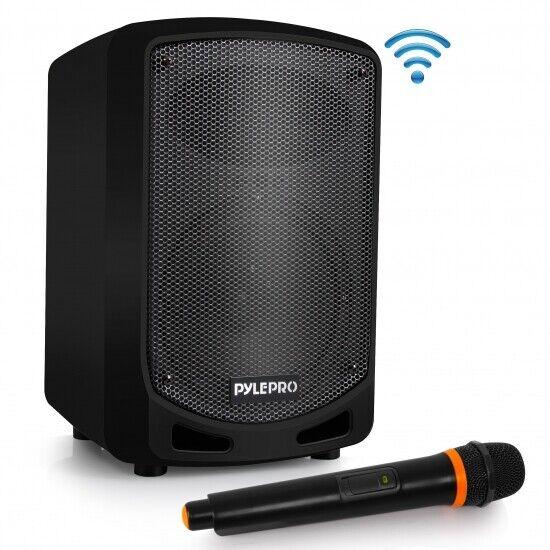 Pyle Bluetooth Karaoke PA Speaker - Indoor / Outdoor Portabl