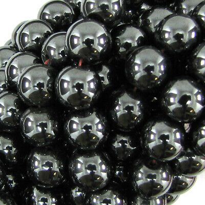 Magnetic Hematite Round Beads Gemstone 16