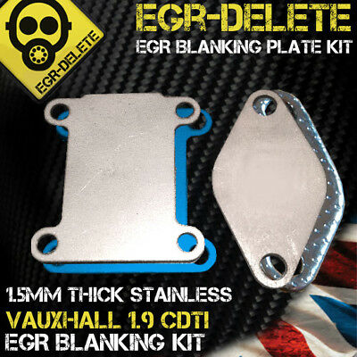 EGR DELETE blanking plate REMOVAL Vauxhall Astra Vectra 1.9 CDTI 150bhp Z19DTH