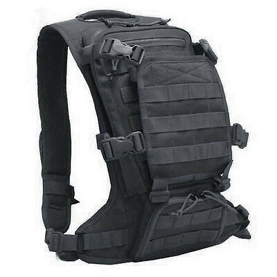 Devgru Navy Seal Tactical Molle Micro FAST Back Pack EDC Modular Black