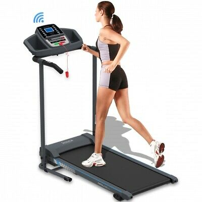 SereneLife SLFTRD20 Electric Folding Treadmill, Exercise Machine, Smart Compact