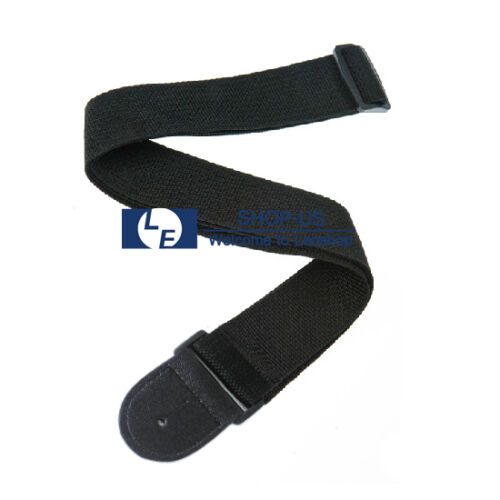 New Adjustable Acoustic Electric Guitar Strap Soft Nylon Lea