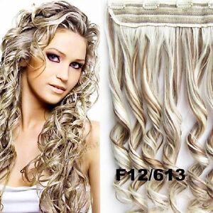 """Rallonge,Extension de cheveux a CLIP,ONDULÉ,MÈCHES , 24"""" West Island Greater Montréal image 10"""