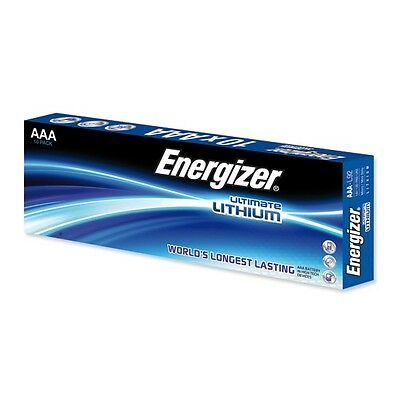 20 x Energizer Ultimate Lithium L92 AAA Micro LR03 MN2400 1,5V MHD 12/2036 ()