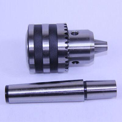 6mm 1jt Heavy Duty Ball Bearing Drill Chuck Key Keyed 1jt-2mt Arbor Mt2 Jt1
