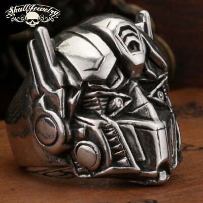 Optimus Prime Ring ('Optimus Prime' Big, Bold Stainless Steel Ring)