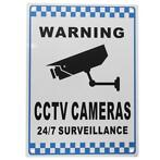 CCTV Warning Sign Security Video Surveillance Camera Safe...