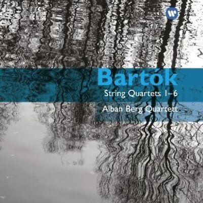 Berg, Alban Quartett - Bartók: String Quartets 1-6 2CD NEU