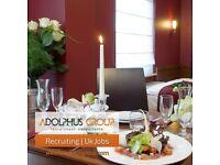 Fine dining Restaurant waiter/waitress Good Salary-Immediate start