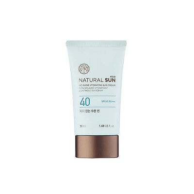 Thefaceshop   Natural Sun Eco No Shine Hydrating Sun Cream Spf40pa    Rs Sample