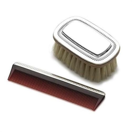 Gorham Sterling Silver 2 pc. Boys Brush &  Comb Set, New in Box, Made in USA