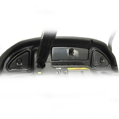(Golf Cart Club Car Precedent 2008.5 & UP Dash Assembly Carbon Fiber FAST SHIP)