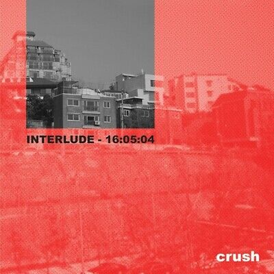 CRUSH [INTERLUDE] 1st Mini Album CD+Booklet K-POP SEALED