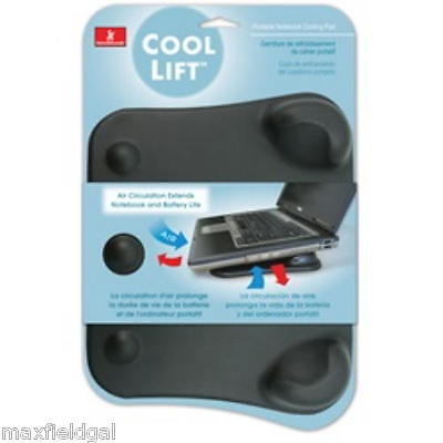 """NEW Cool Lift Notebook Pad, Angled riser, 10"""" x 8"""" x 1.125"""" lightweight/portable"""