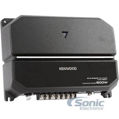 新着! Kenwood KAC-5207 500W最大ピーク(170W RMS)2チャンネルカーオーディオアンプアンプ