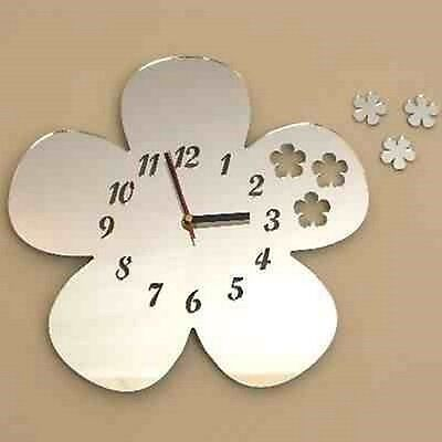 Daisies out of Daisy Clock - Acrylic Mirror (Several Sizes Available)