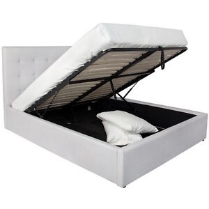 June Hydraulic Storage Bed From