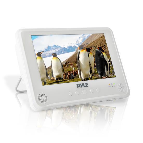 Pyle Waterproof 9'' Portable DVD Player, Built-in Rechar