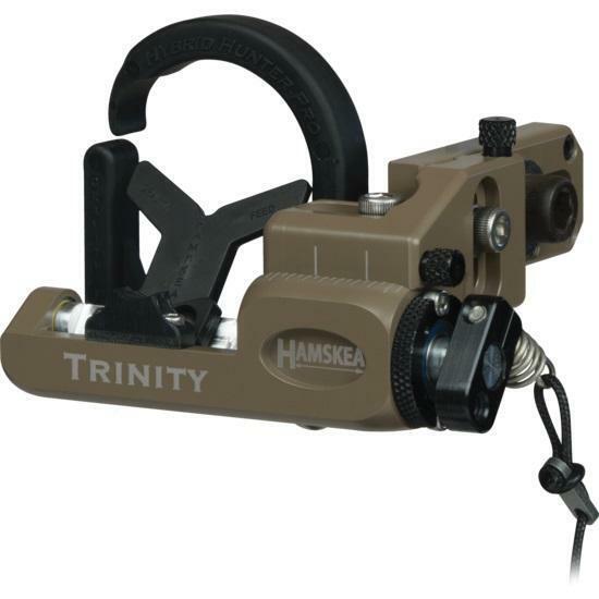 Hamskea Trinity Hunter Pro Arrow Rest - Coyote - Right Hand NEW!!!