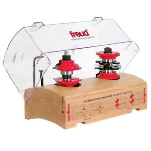 "Freud® 99-267 2-pc. Entry & Interior Router Bit Set - 1-7/8"" Dia"