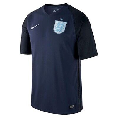 NIKE ENGLAND MENS PLAYER ISSUE AWAY SHIRT 2017-2018 (832459-410) SIZE LARGE